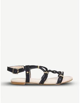 Office Serengeti rope sandals