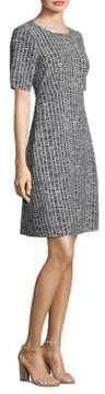Peserico Tile-Print Sheath Dress