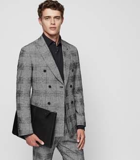 Reiss Bragg B Slim-Fit Check Blazer