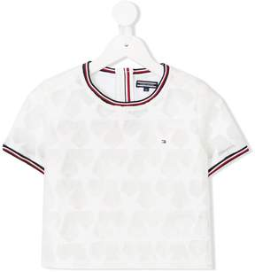 Tommy Hilfiger Junior mesh star T-shirt