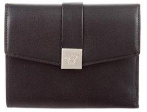 Versace Compact Logo Wallet