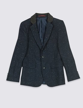 Marks and Spencer Wool Blend Jacket (3-14 Years)
