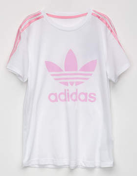 adidas 3 Stripes Girls Tee
