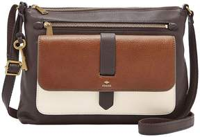Fossil Kinley Colorblocked Cross-Body Bag