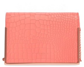Ted Baker Leather Crossbody Bag - Pink