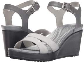 Crocs Leigh II Ankle Strap Wedge Women's Wedge Shoes