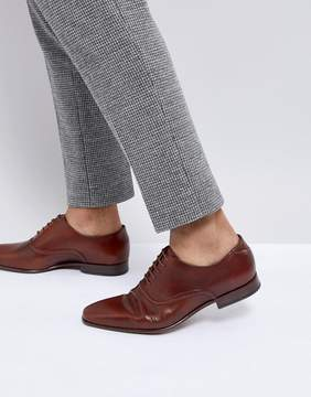 Paul Smith Starling Leather Derby Shoe In Tan