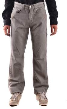 Richmond Men's Grey Cotton Jeans.
