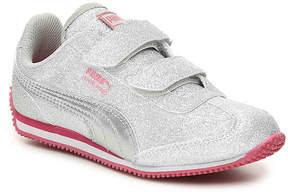 Puma Girls Whirlwind Glitz Toddler & Youth Sneaker