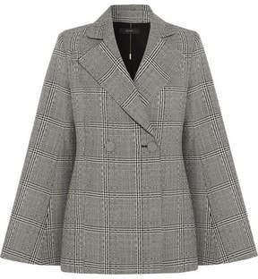 Ellery Boycott Prince Of Wales Checked Wool Blazer - Gray