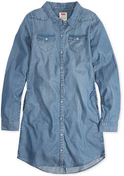 Levi's Western-Inspired Shirtdress, Little Girls (4-6X)