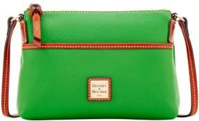 Dooney & Bourke Pebble Grain Ginger Pouchette Shoulder Bag - KELLY GREEN - STYLE