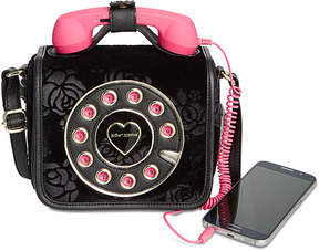 Betsey Johnson Mini Embossed Rose Phone Crossbody, a Macy's Exclusive Style