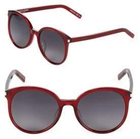 Saint Laurent 56MM Oval Sunglasses