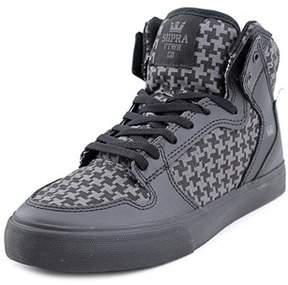 Supra Vaider Youth Round Toe Synthetic Black Tennis Shoe.