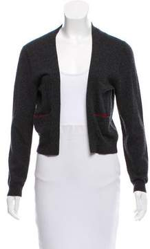 Cacharel Open Front Long Sleeve Cardigan