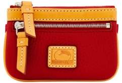 Dooney & Bourke Patterson Leather Small Coin Case - RED - STYLE