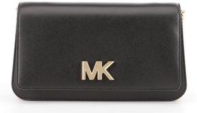 MICHAEL Michael Kors Mott Large Clutch - BLACK - STYLE