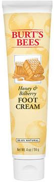 Honey Bilberry Foot Cream by Burt's Bees (4oz Cream)