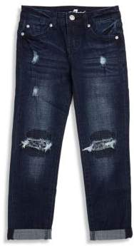 7 For All Mankind Girl's Denim Jeans