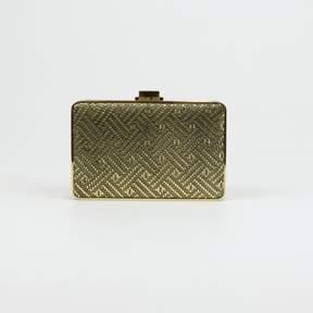 Michael Kors Pearl Medium Box Clutch $178 - GOLDS - STYLE