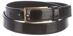 Prada Patent Leather Belt