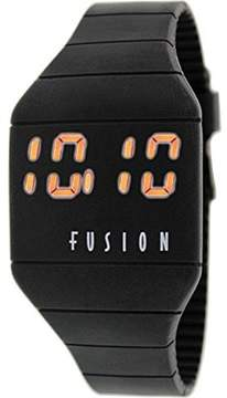 Dakota Fusion Comfort Silicon Watch with Tech Time- Lights Up at the Touch of a Botton