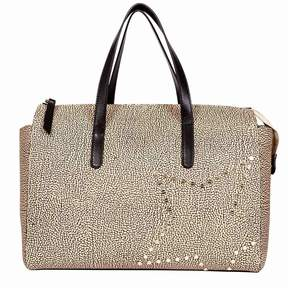 Borbonese Large Handbag With Star