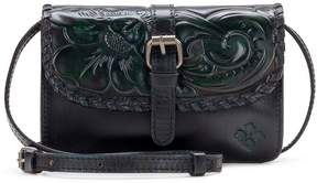 Patricia Nash Burnished Tooled Collection Torri Cross-Body Bag