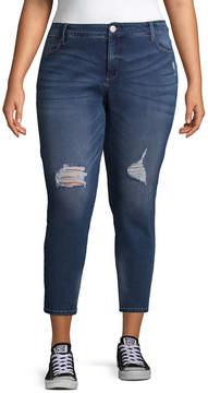 Boutique + + Ankle Jean - Plus