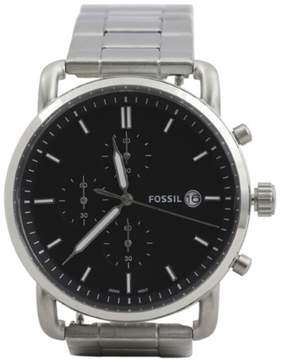 Fossil Men's FS5399 Silver Stainless Steel Chronograph Analog Watch
