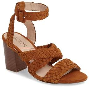 Sole Society Evelina Block Heel Sandal