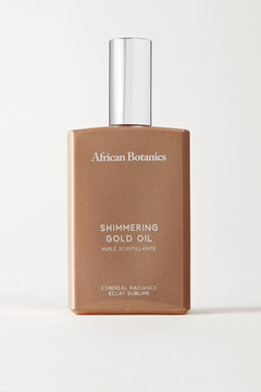 African Botanics - Marula Shimmering Gold Oil, 100ml - Colorless