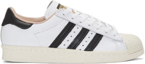 adidas White Superstar 80s Sneakers