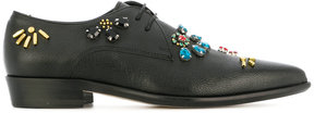 Paul Smith embellished lace-up shoes