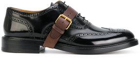 Valentino buckle strap derbys shoes