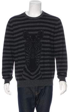 Hermes Striped Zebra Cashmere & Wool Sweater