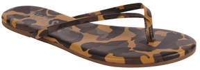 TKEES Face Paint Leather Sandal