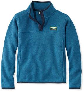 L.L. Bean Kids' L.L.Bean Sweater Fleece, Pullover