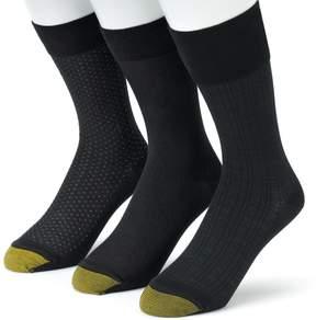 Gold Toe GOLDTOE Men's GOLDTOE 3-pk. Dress Socks