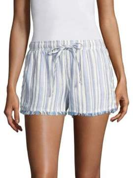 Bella Dahl Striped Drawstring Shorts
