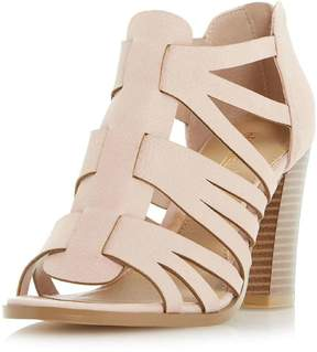 Head Over Heels *Head Over Heels by Dune Nude 'Jasinda' High Sandals