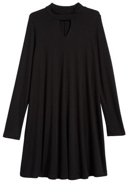 Soprano Girl's Mock Neck Knit Dress