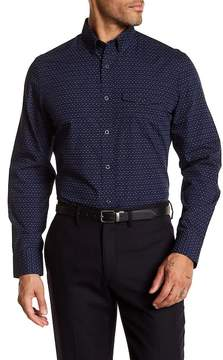 Nordstrom Dot Print Regular Fit Shirt