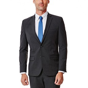 Haggar Men's J.M. Premium Slim-Fit Stretch Suit Coat