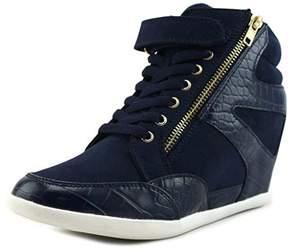 Thalia Sodi Azar Women Round Toe Synthetic Blue Sneakers.