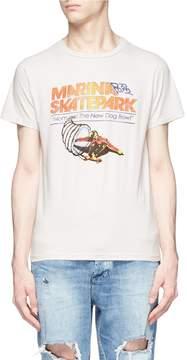 Remi Relief Skate park print T-shirt