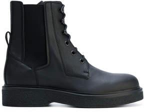 Lanvin lace up ankle boots