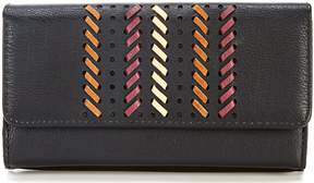 Kate Landry RFID Cameron Lacing File Wallet