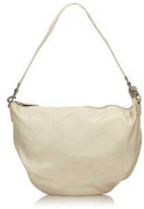 Gucci Pre-owned: Leather Shoulder Bag. - WHITE X IVORY - STYLE